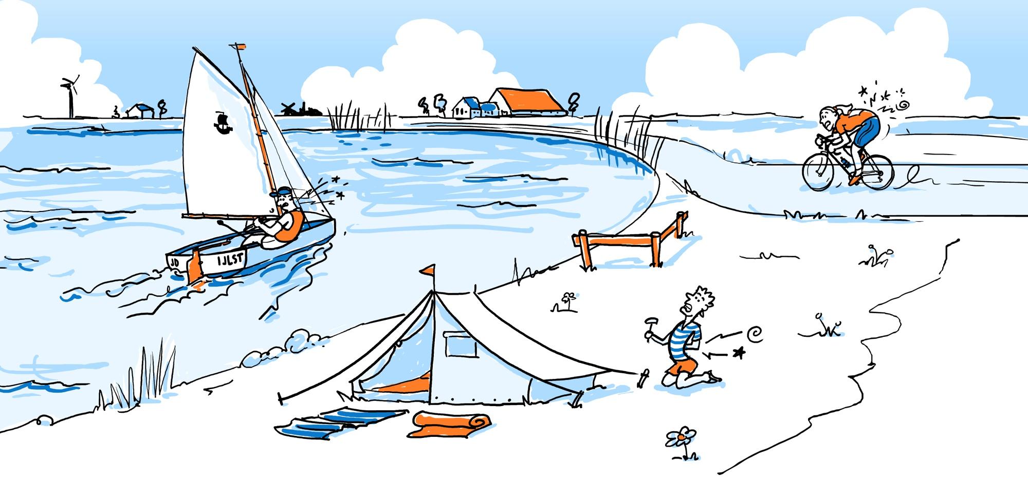 tekening-vakantie web